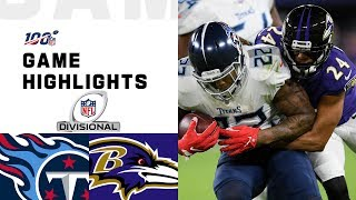 Download Titans vs. Ravens Divisional Round Highlights | NFL 2019 Playoffs Mp3 and Videos
