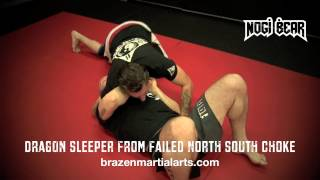 Coach Mickey Hall demonstrates the Dragon Sleeper from North South ...