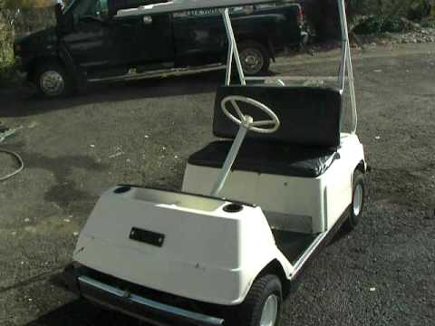 SOLD!!! Yamaha G1 Gas Golf Cart FOR SALE  YouTube