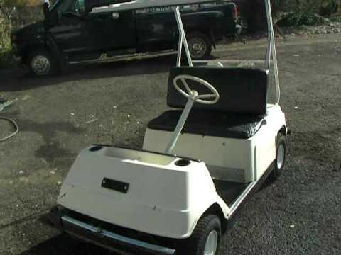 Play Golf Cart Club Cart Wiring Diagram Sold Yamaha G1 Gas Golf Cart For Sale Youtube
