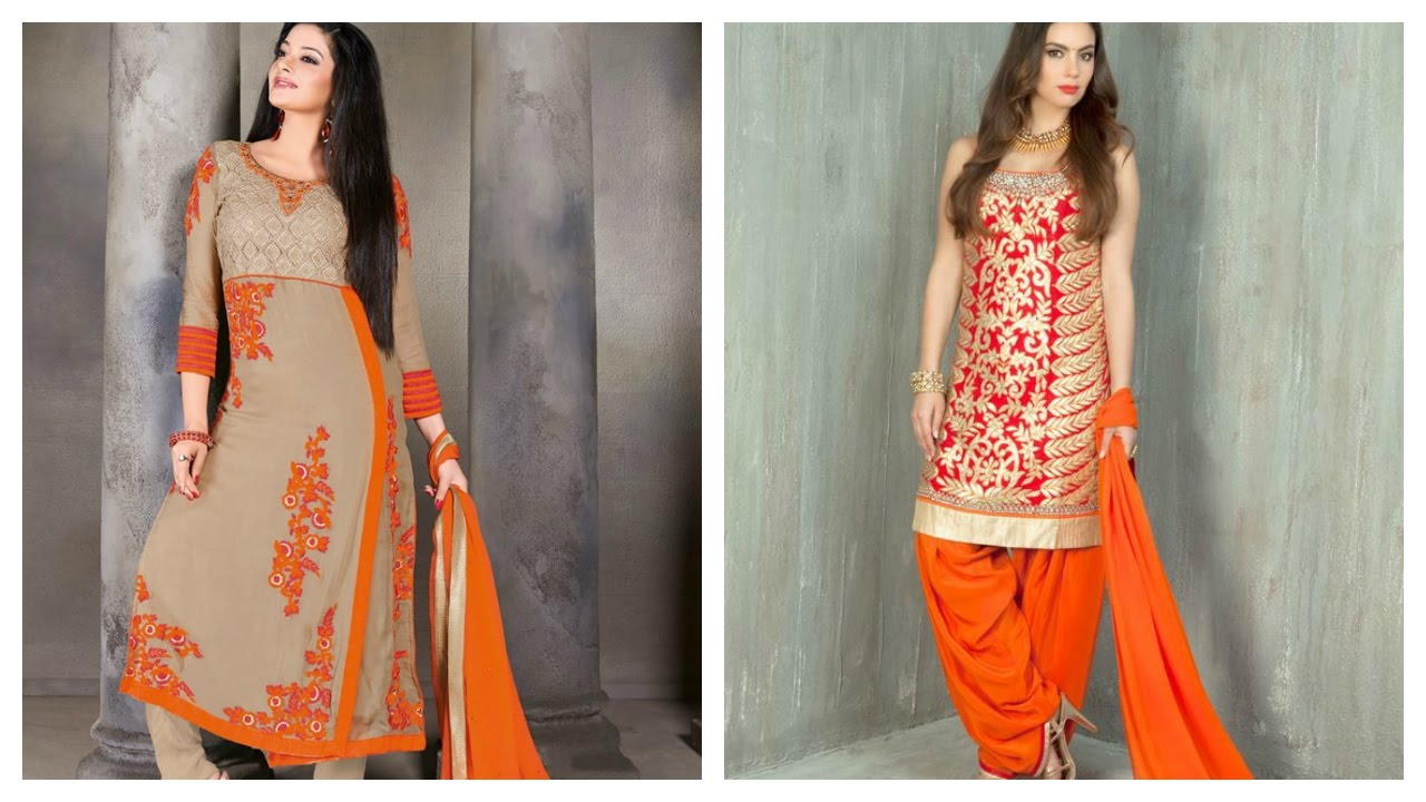 be07b98d51 Latest Party Wear Salwar Suits - YouTube