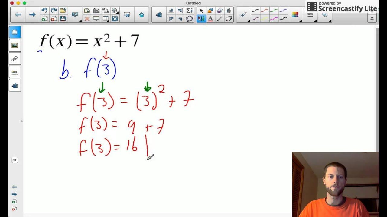 Algebra 1 Function Notation Worksheet Answer Key ...