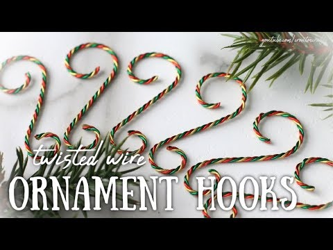 Twisted Wire Ornament Hangers!! *tutorial*