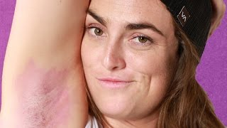 Women Dye Their Armpit Hair For The First Time