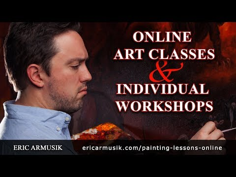 Painting and Drawing Lessons Online and In-Studio Workshops