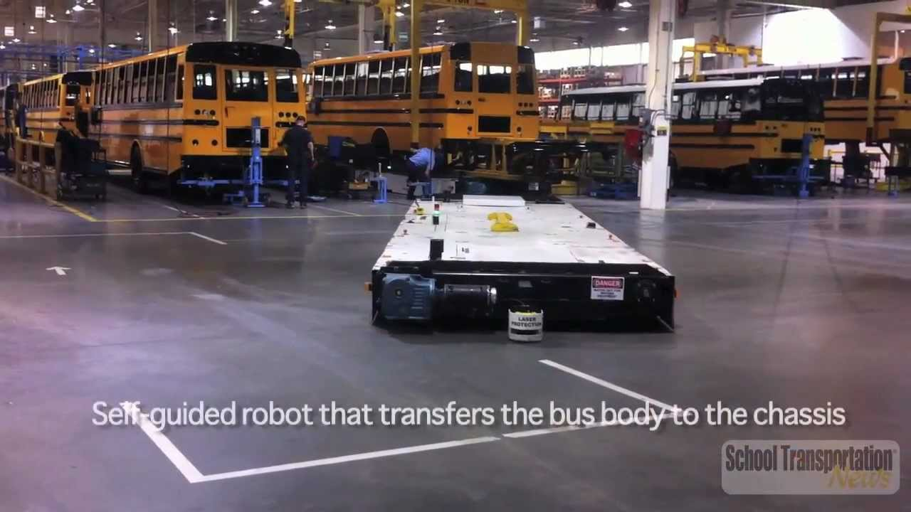 Thomas Built Buses SafTLiner C2 Plant Tour  YouTube