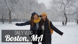 Daily Vlog: Boston, MA