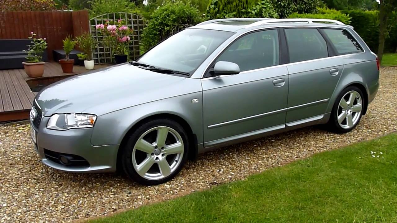 video review of 2005 audi a4 avant s line for sale sdsc. Black Bedroom Furniture Sets. Home Design Ideas