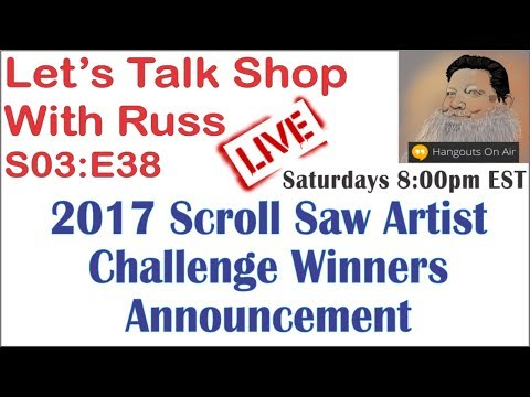 Let's Talk Shop With Russ S03:E38 2017 Scrollaw Artist Challenge Winners