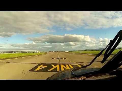 De Dublin à East Midlands - PA31 Chieftain - Approche Extreme - Cockpit Cam - Full HD (1080p)