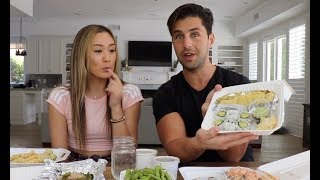 EPIC SUSHI MUKBANG WITH LAURDIY!!