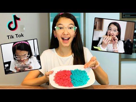 testando-truques-de-comidas-do-tik-tok-!!-food-hacks-virais- -luluca