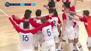 UKRAJINA vs HRVATSKA 2:7 (kvalifikacije za Europsko prvenstvo u futsalu)