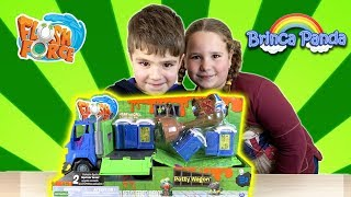 Flush Force Potty Wagon Series 2 Brinquedos Unboxing