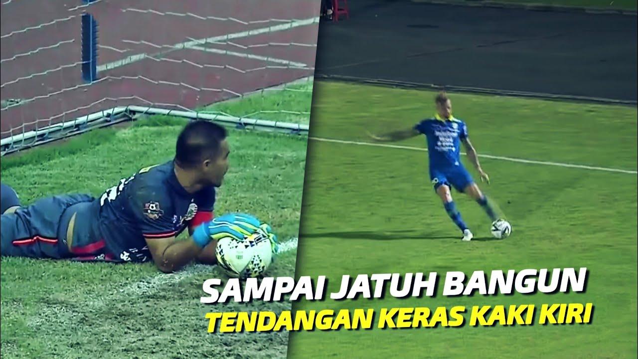 """Mengejutkan Kiper Lawan"" Inilah Tendangan Kaki Kiri Paling Mematikan di Liga 1 Indonesia"