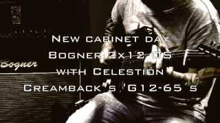 Gambar cover Bogner 2x12 OS with Celestion 65w Creambacks