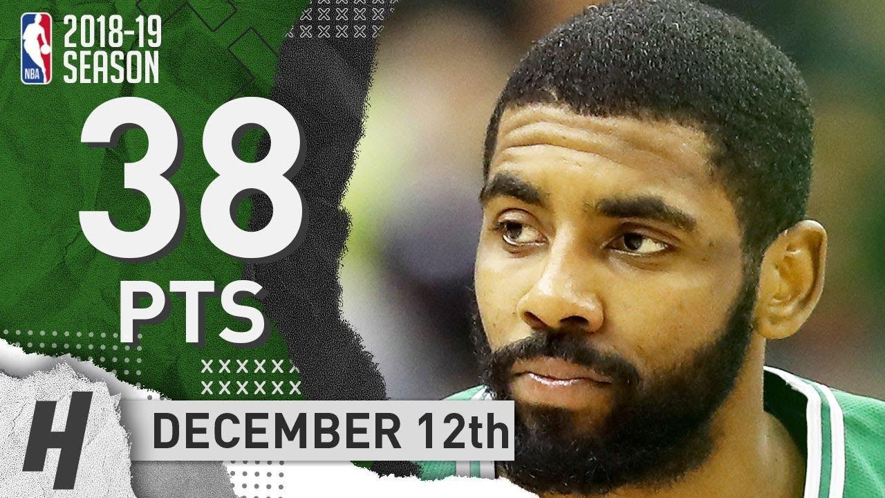 Kyrie Irving EPIC Highlights Celtics vs Wizards 2018.12.12 - 38 Pts ... e4dea2cdc
