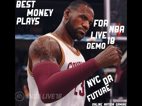 NBA Live 18 Demo How To Score Tips | BEST OFFENSE PLAYS