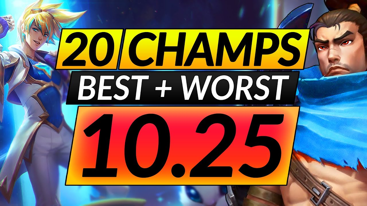 Download 20 BEST and WORST CHAMPIONS in the NEW META - 10.25 Picks - LoL Tips Guide