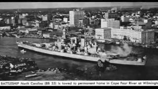 "USS North Carolina (BB- 55) ""Showboat"""