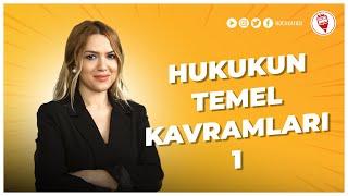 1) Hukukun Temel Kavramları 1 - Esra Özkan Karaoğlu (KPSS VATANDAŞLIK) 2022