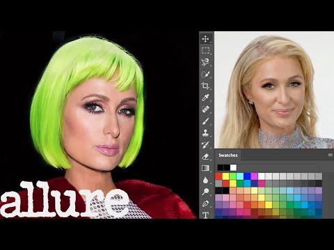 Paris Hilton Photoshops Herself Into 7 Different Looks | Allure