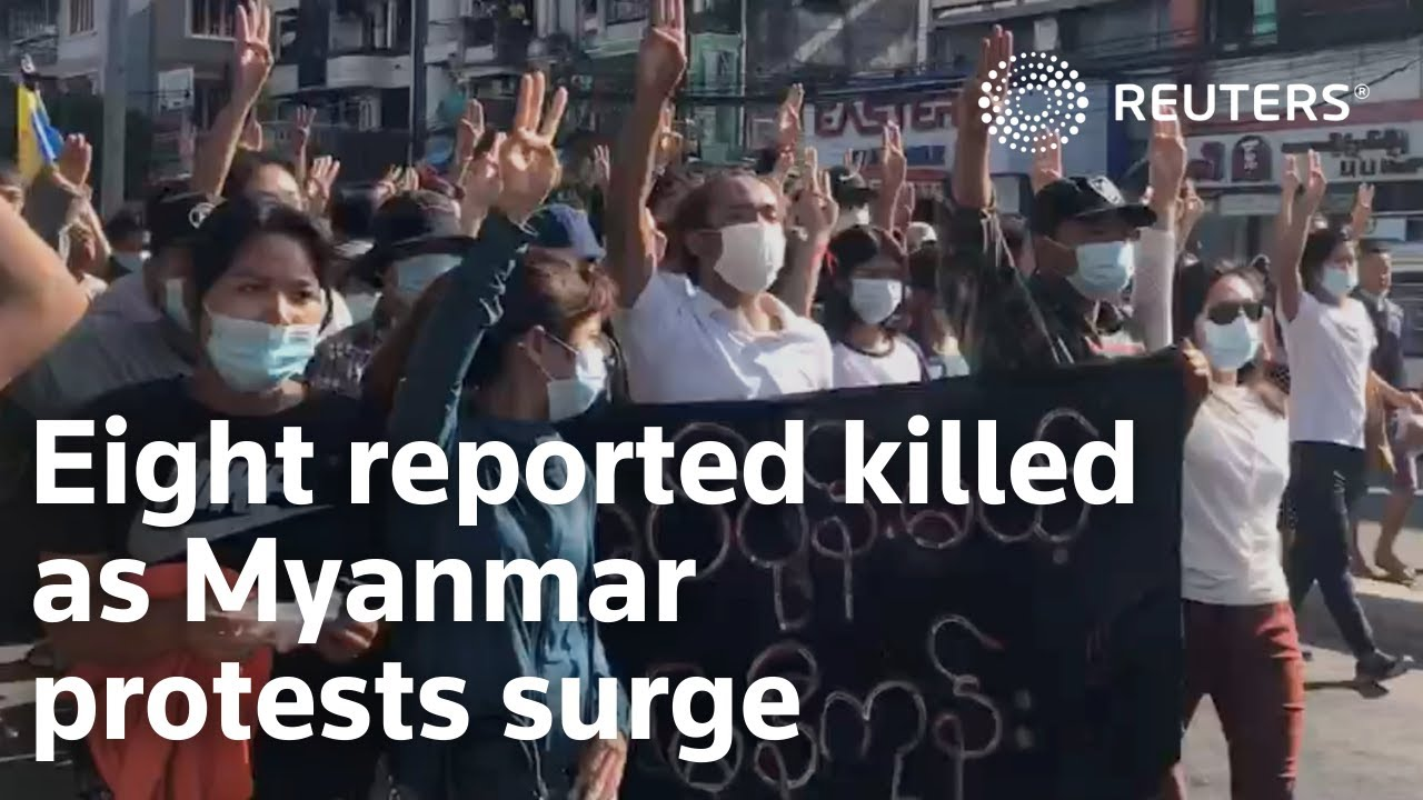 Myanmar activists say more than 800 killed by security forces since ...