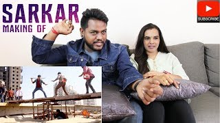 Sarkar Uruvana Vidham Reaction | Malaysian Indian Couple | Making Of Fight Stunts