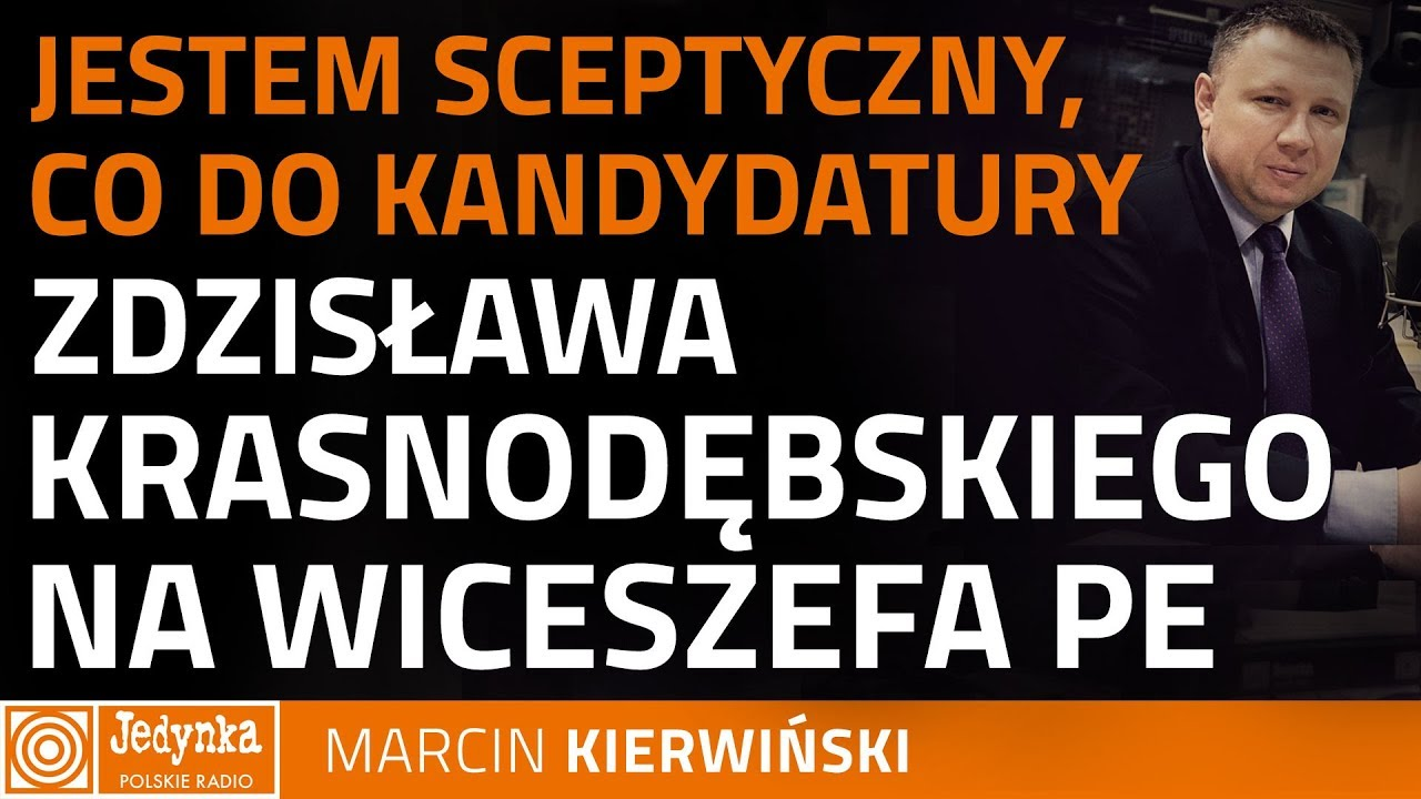 Marcin Kierwiński: trudno być wiceszefem PE i tak naprawdę podkopywać fundamenty UE