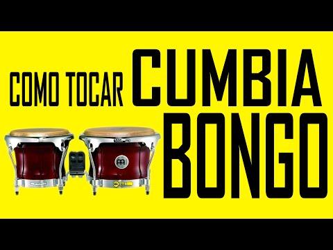 COMO TOCAR CUMBIA - BONGO Y CAMPANA WITH ENGLISH SUBTITLES