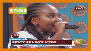 10 OVER 10   Vallerie Muthoni spicing it up