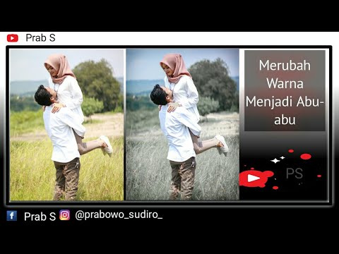 Tutorial Edit Foto Menggunakan Lighroom Cc Merubah Warna Rumput Hijau Menjadi Abu Abu Youtube