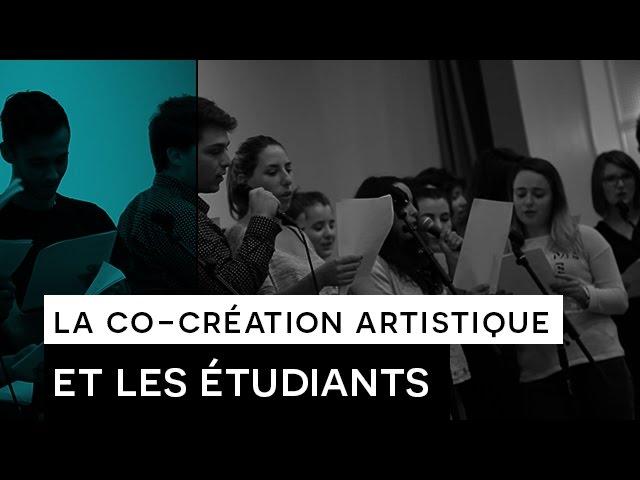 People say : QOLNIQO - Co-création artistique avec des étudiants