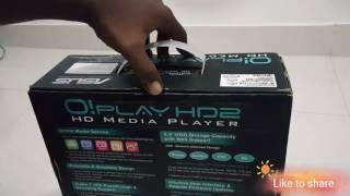 Asus o play hd2 media player non android os tamil unboxing