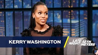 Kerry Washington Has Her Eye on Scandal