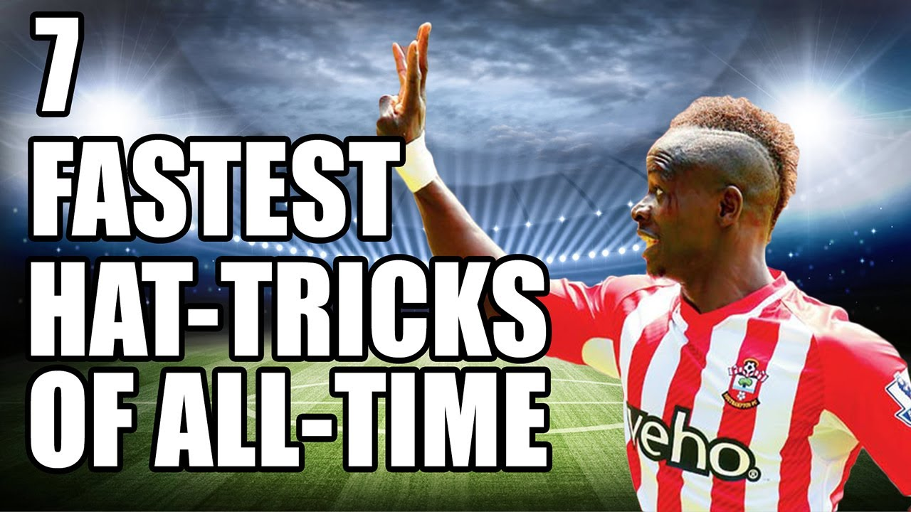 7 Fastest Hat Tricks In Football History Youtube