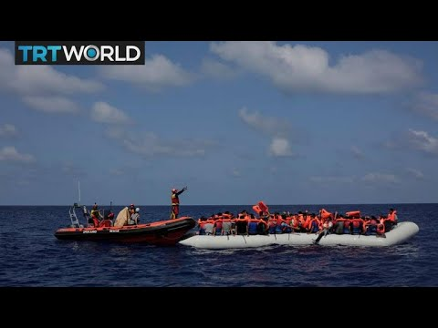 Algerian Migrants: Men risk their lives to cross the Mediterranean