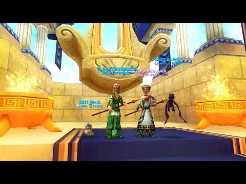 MOUNT OLYMPUS GEAR! - Wizard101 Death Walkthrough Ep 20