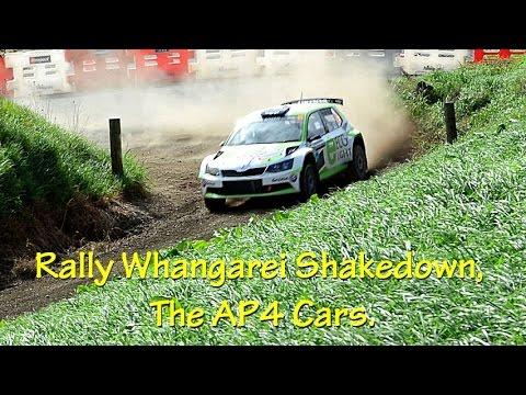 Rally Whangarei Shakedown The Cars Youtube