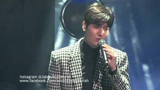 Lee Min Ho MINOZ WORLD 1st TALK CONCERT #3rd Song