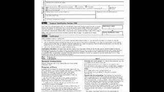 Printable W-9 Form fill in your W-9 Form