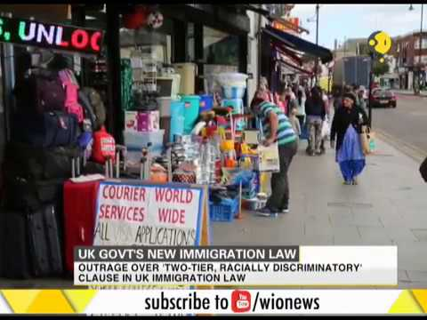 UK govt's new immigration law