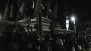 香川県 さぬき市志度 多和神社の秋祭り 明組 2005年