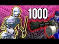 1000 SKELETONS VS RAVENFIELD GHOST BUSTER COMRADES: NEW SPOOKY HAUNTED RAVENFIELD GAME MODE Gameplay