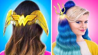11 милых причёсок супергероев