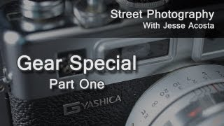 Street Photography Gear with Jesse Acosta (Part One)