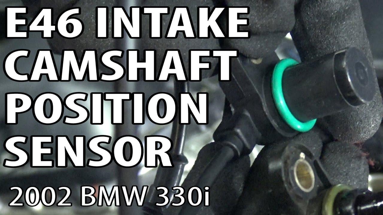 bmw e46 intake camshaft position sensor replacement p0344 p0340 [ 1280 x 720 Pixel ]