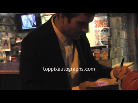 Balthazar Getty - Signing Autographs at the 'Big Sur' Premiere in NYC
