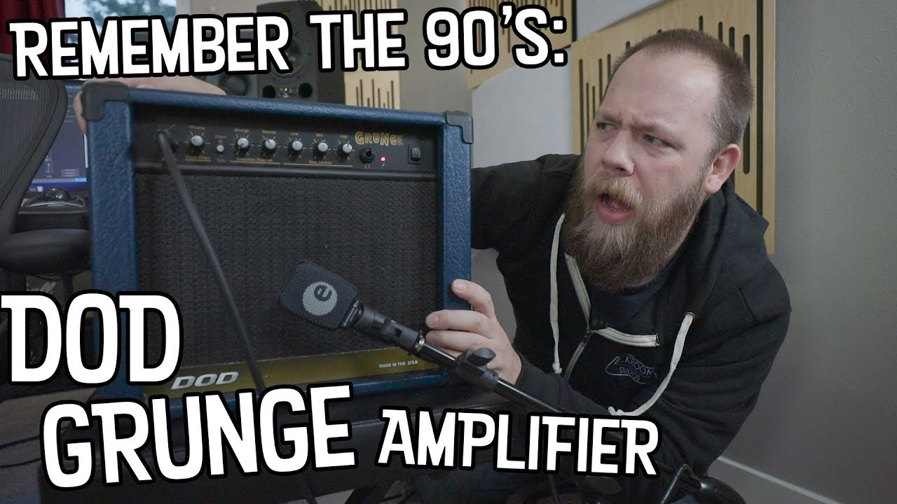 Remember The 90's: DOD Grunge   Amplifier?