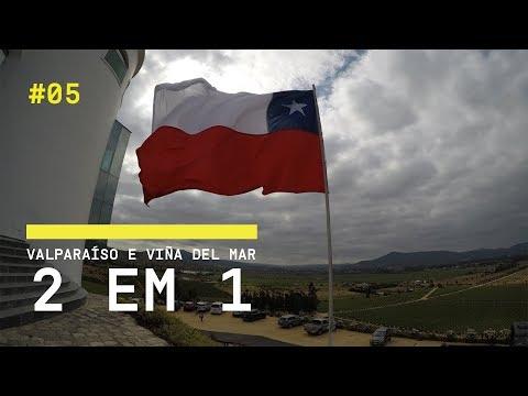VALPARAISO E VIÑA DEL MAR (BATE E VOLTA) - VLOG DE VIAGEM | SANTIAGO/CHILE #5